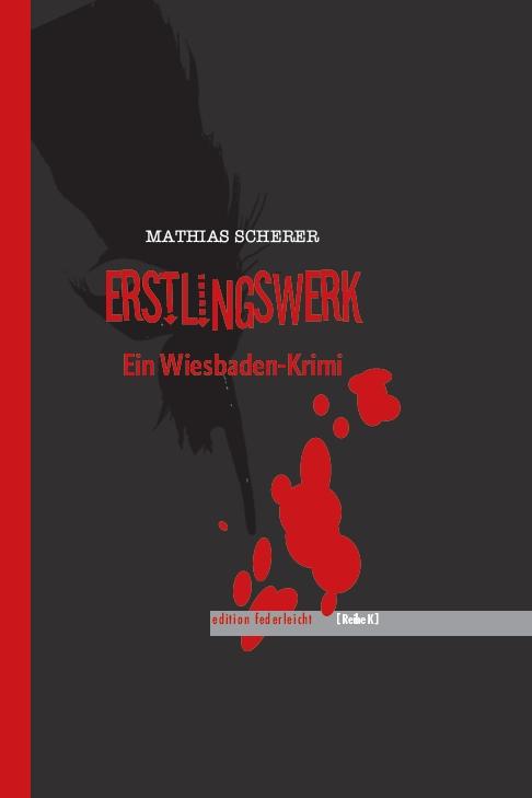 """Förderverein Literaturhaus Wiesbaden am 25. März 2021 - Mathias Scherer mit """"Erstlingswerk"""" via ZOOM"""