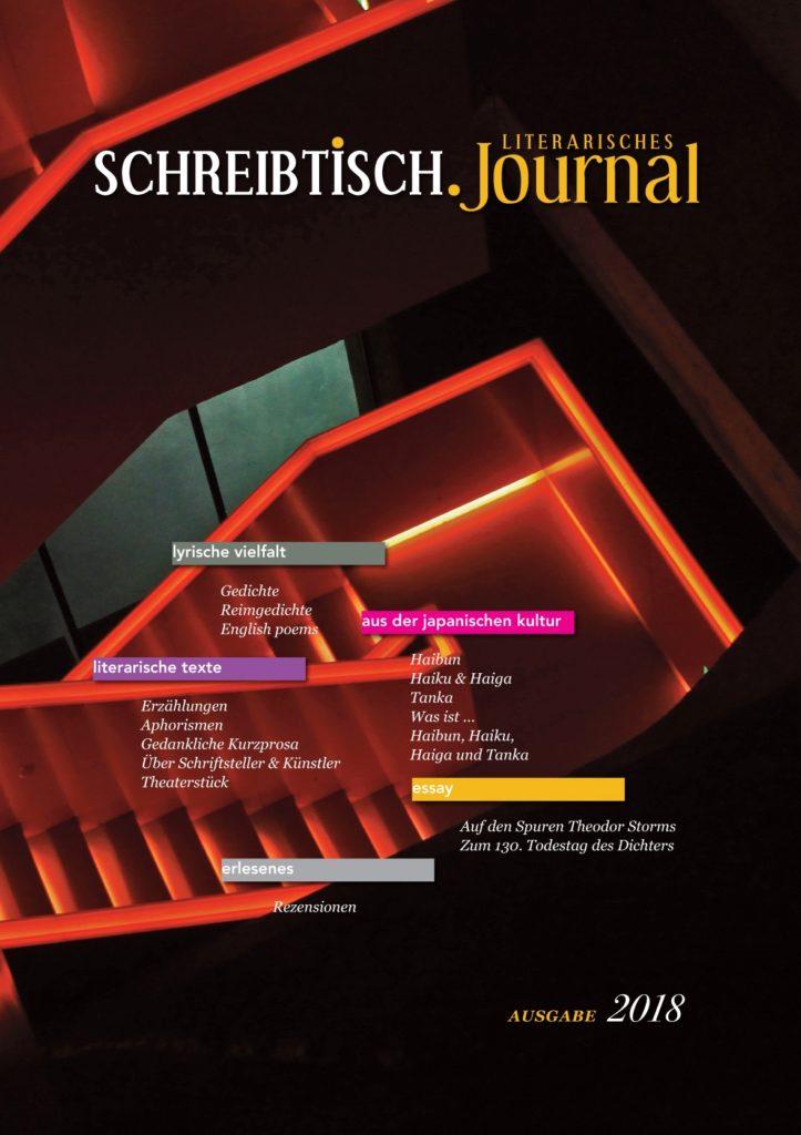 SCHREIBTISCH. Literarisches Journal – Ausgabe 2018