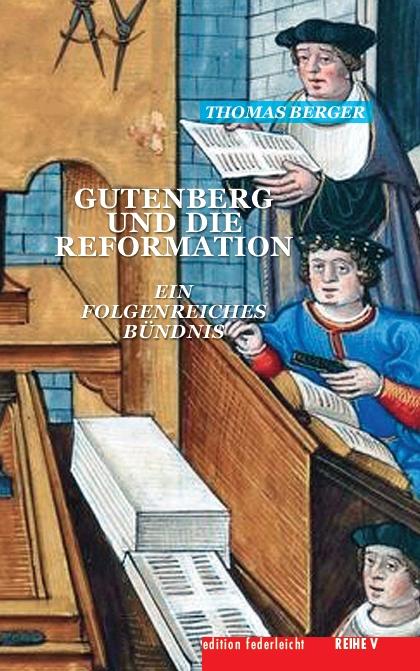 """Kleine Buchmesse im Neckartal - Thomas Berger liest aus """"Gutenberg und die Reformation"""""""