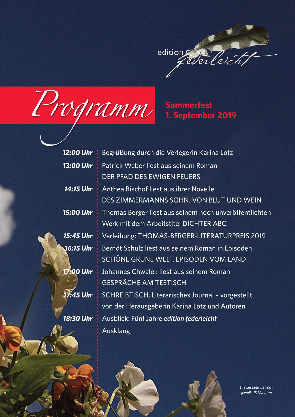 Sommerfest edition federleicht in Lollar
