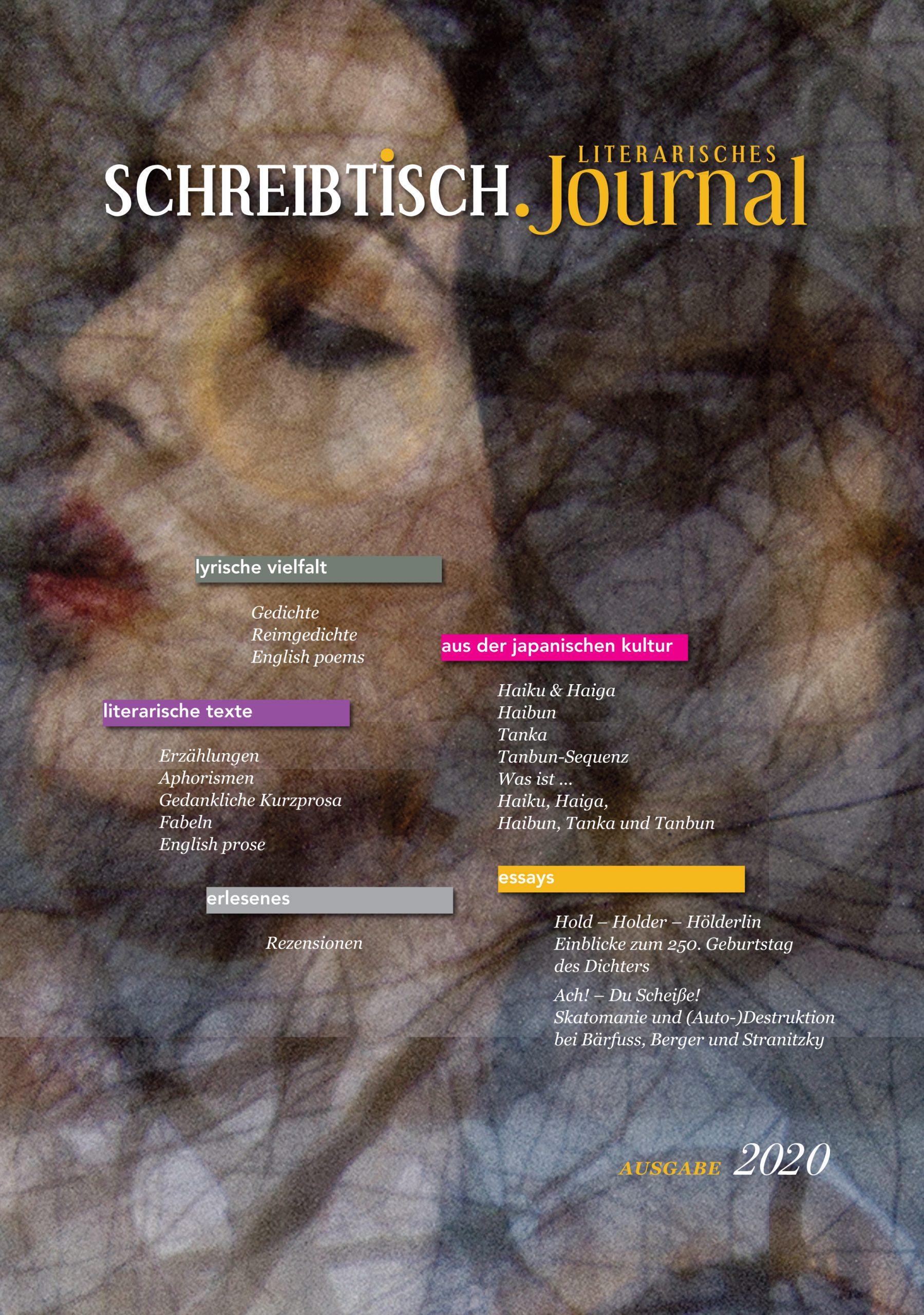 Frankfurter Buchmesse #fbm digital  - Vorstellung von SCHREIBTISCH. Literarisches Journal 2020