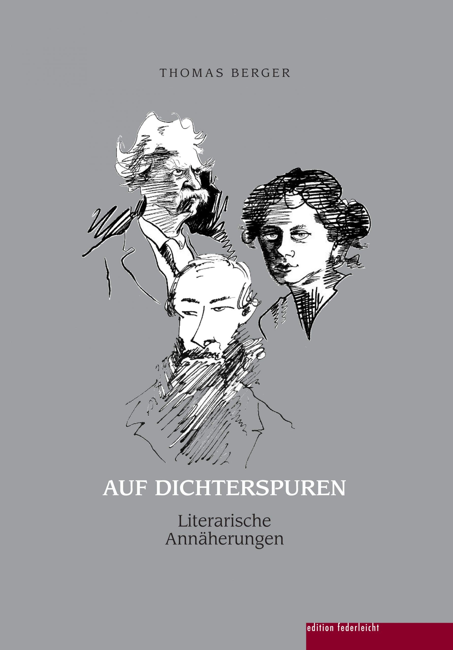 Frankfurter Buchmesse #fbm digital – Thomas Berger stellt AUF DICHTERSPRUREN vor