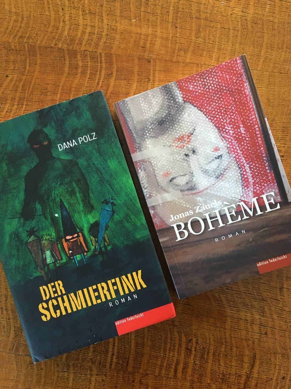Dana Polz und Jonas Zauels lesen aus ihren Romanen